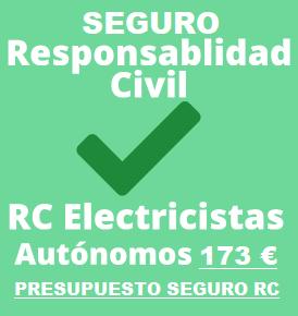 Seguro responsabilidad civil electricista